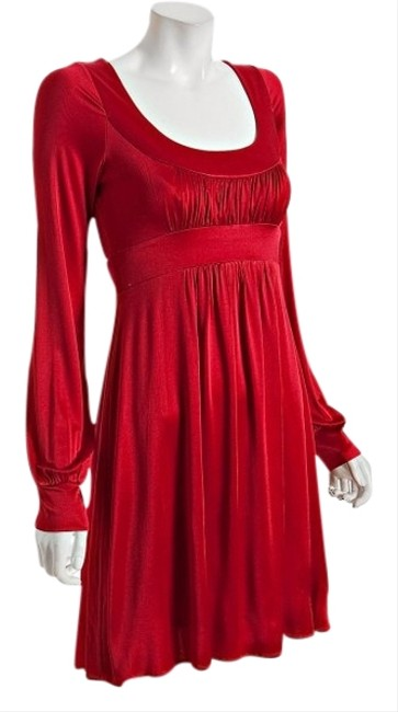 Preload https://img-static.tradesy.com/item/1353810/bcbgmaxazria-red-bcbg-max-azria-silky-above-knee-night-out-dress-size-4-s-0-0-650-650.jpg