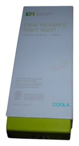 COOLA COOLA -EVIRONMENTAL REPAIR PLUS CLEAR RECOVERY FOAM WASH NEW