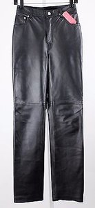 Newport News G1169 X Black Thick Leather Lb Pants