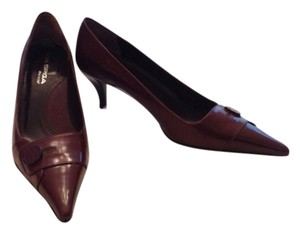 Via Spiga Burgundy Pumps