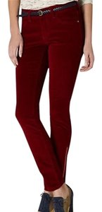 Pilcro and the letterbox Capris Dark red