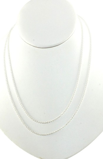 "Ippolita Ippolita Sterling Silver Thin Long Chain Necklace 36"" Small Link .925 New"