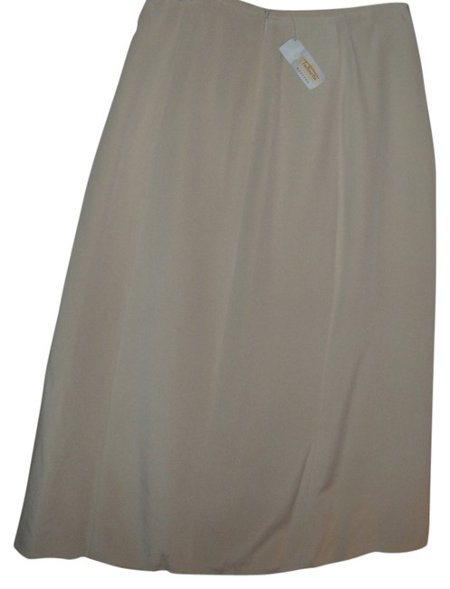 Preload https://img-static.tradesy.com/item/13540375/talbots-ivory-silk-luxurious-feel-light-beige-maxi-full-a-line-classic-and-professional-midi-skirt-s-0-1-650-650.jpg