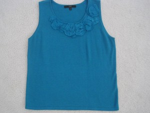 Alex Marie Camisole Sleeveless Top Teal