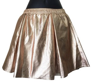 BCBGeneration Mini Skirt rose gold