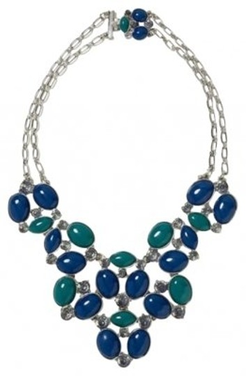 Preload https://img-static.tradesy.com/item/135421/banana-republic-turquoise-blue-and-silver-bobblebibb-necklace-0-0-540-540.jpg