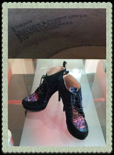 Betsey Johnson Leather Black Boots