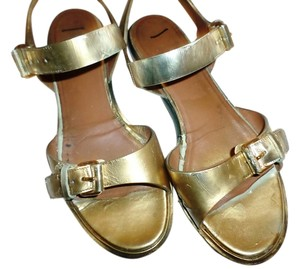 Givenchy Metallic gold Sandals