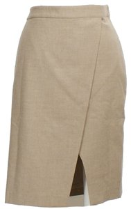 Ralph Lauren Pencil Skirt Taupe Heather