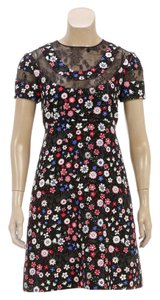 Valentino short dress Black/Multicolor on Tradesy