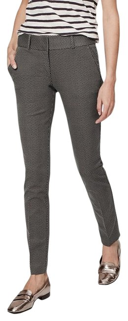 Item - Anchor Grey Pindot Essential Ankle In Julie Fit Pants Size 4 (S, 27)