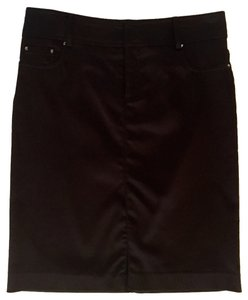 Cache Pencil Skirt Black