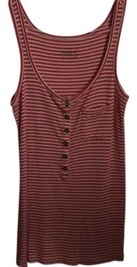 J.Crew Top Red and white