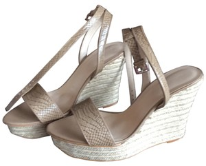 Zara Beige Wedges