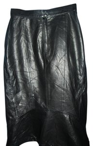 Tannery West Skirt black leather