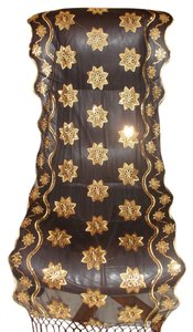 Other Amazingly beautiful Italian Shawl heavy sequins embroidery black gold