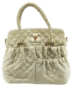 Marc Jacobs Julianne Stam Quilted Tote in Green