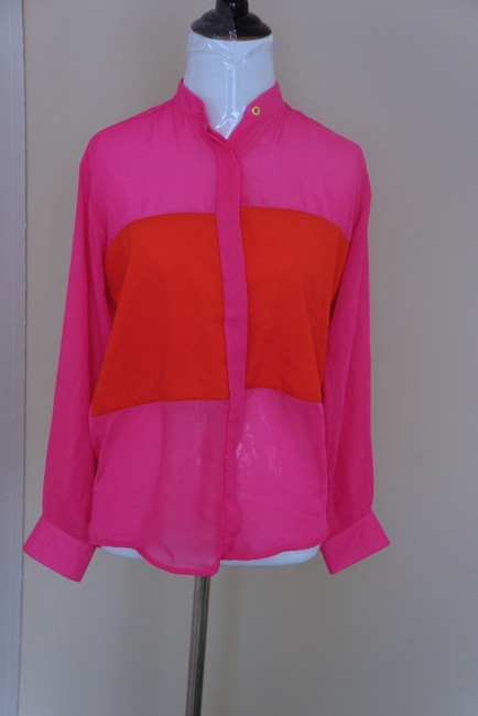 Naven Top red and pink