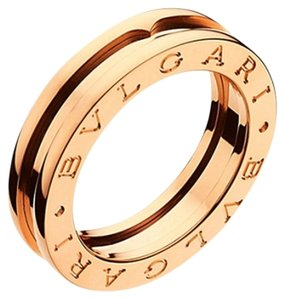 BVLGARI Bvlgari 18K Rose Gold Ring AN852422 US 7.25