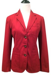 Banana Republic red Blazer