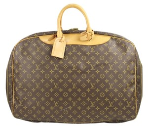 Louis Vuitton Alize Satelite Keepall Cabourg Duffle monogram Travel Bag