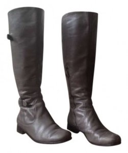 Modern Vintage Gray Boots
