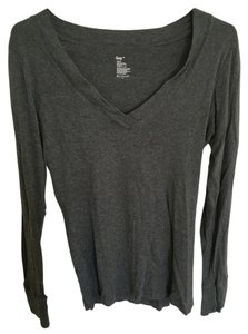 Gap Longsleeve T Shirt Grey