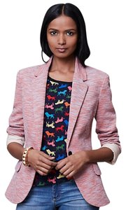 Cartonnier Anthropologie Tonal Knit Pink Blazer