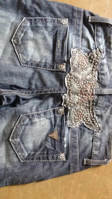 Guess Studded Embellished Skinny Jeans