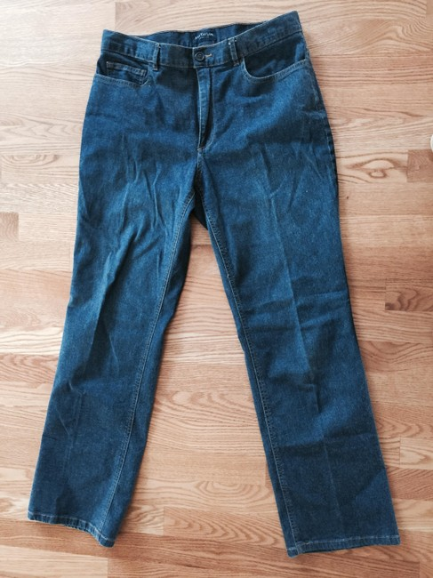 Ann Taylor Relaxed Fit Jeans-Medium Wash Image 1