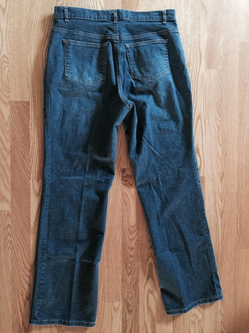Ann Taylor Relaxed Fit Jeans-Medium Wash Image 3