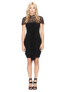 Nicole Miller Lace Party Stretchy Dress