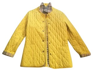 Burberry Quilted Coat yellow Jacket