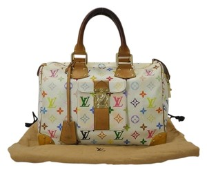 Louis Vuitton Multicolor Murakami Tote in Mulitcolor