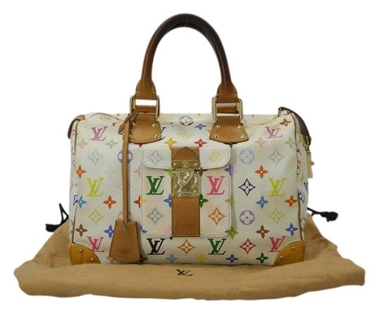 Preload https://item2.tradesy.com/images/louis-vuitton-speedy-white-30-mulitcolor-leather-tote-1355061-0-0.jpg?width=440&height=440