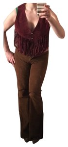 Ambiance Boot Cut Pants Brown