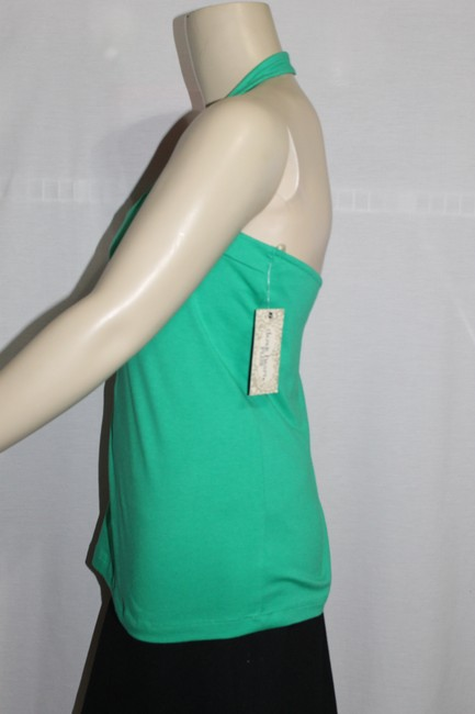 Derek Heart Green Halter Top