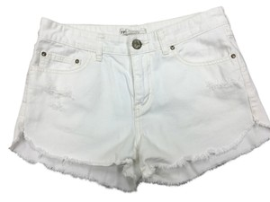 Free People Shorts white