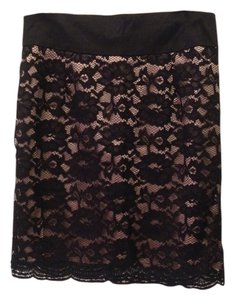 Forever 21 Mini Skirt Black Lace