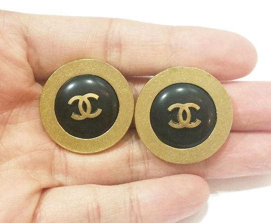 Chanel Vintage Chanel CC Clip on Earrings