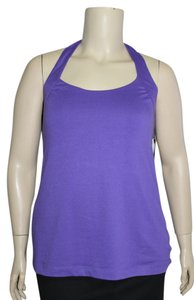 Derek Heart Purple Halter Top