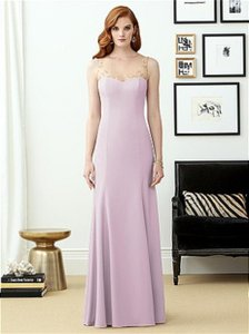 Dessy Suede Rose 2964 Destination Bridesmaid/Mob Dress Size 16 (XL, Plus 0x)