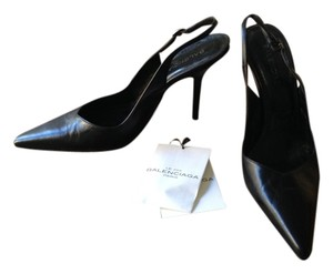 Balenciaga Classic Stilletto Leather Italy Black Pumps
