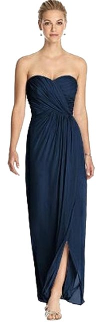 Dessy Midnight 2882 Long Night Out Dress Size 24 (Plus 2x) Dessy Midnight 2882 Long Night Out Dress Size 24 (Plus 2x) Image 1