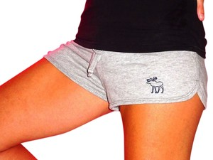 Abercrombie & Fitch Moose Grey Gray Gray Shorts