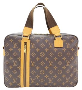 Louis Vuitton Sac Bosphore Monogram Canvas Large Large Tote in Brown