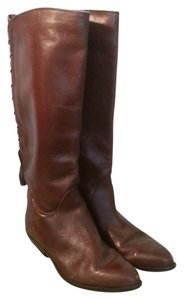 Bandolino Vintage Leather Brown Boots
