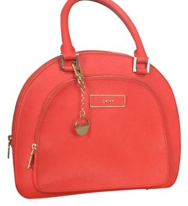 DKNY Dnky Peach Pink Cross Body Bag