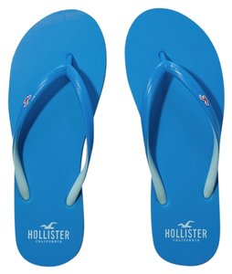 Hollister Blue Flats