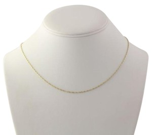 Singapore Chain Necklace - Sterling Silver Italian 925 Womens 17.75 Estate